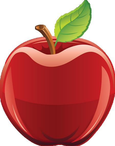 Pomme Rouge Png Dessin Tube Fruit Apple Vector Clipart