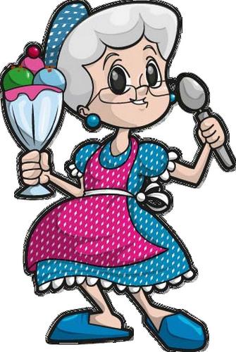 Glaces ice cream page 8 - Dessin de mamie ...