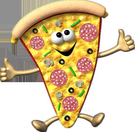Assez humoristique : part de pizza BF69