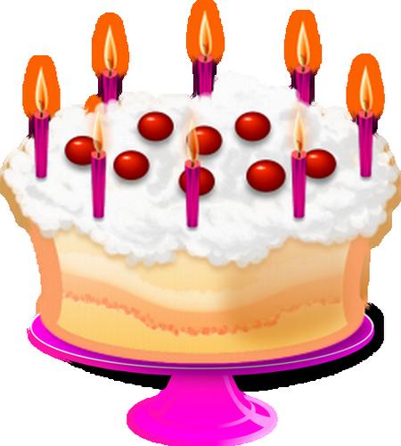 gateau avec 5 bougies – secrets culinaires gâteaux et pâtisseries