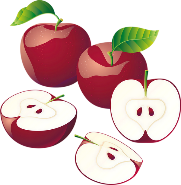Pommes dessin png clipart red apples drawing fruit - Dessin pomme apple ...
