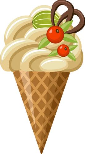 Cornet De Glace Png Ice Cream Clipart Gelato Png