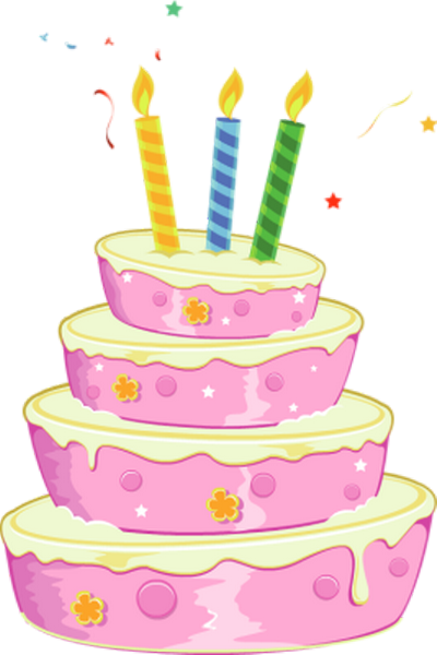 Favori d'anniversaire : 3 bougies DU24