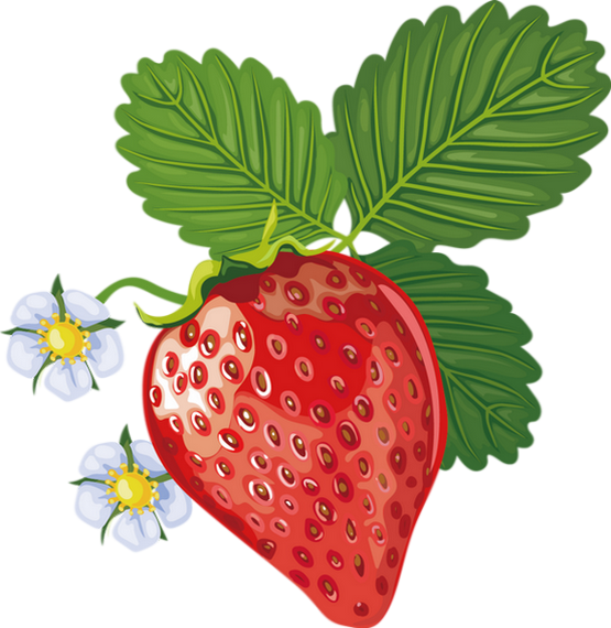 Tube Fruit Fraise Png Dessin Strawberry Clipart Food