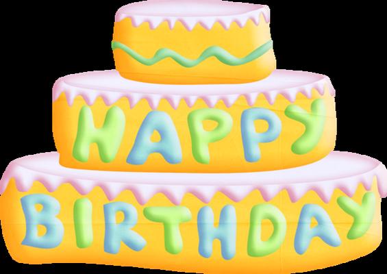 birthday : dessin gâteau d'anniversaire sans bougie