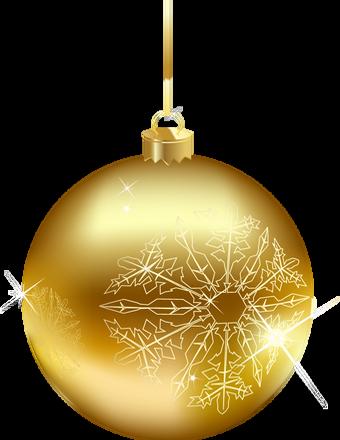 boule de no l or tube gold christmas ball png natale. Black Bedroom Furniture Sets. Home Design Ideas