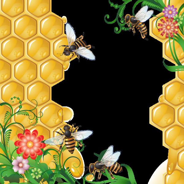 La ruche et les abeilles dessin bees drawing png - Dessin de ruche d abeille ...