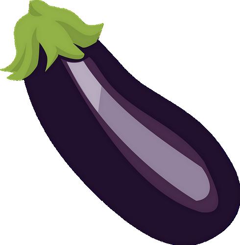 Aubergine Dessin tube aliment, dessin aubergine - eggplant drawing png