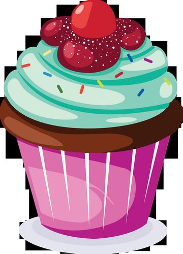Cupcake Dessin Couleur