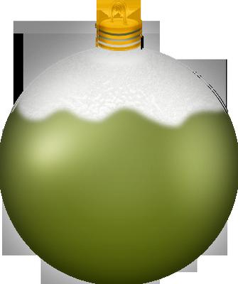 Boule Noel Verte Boule de Noël verte : tube   Christmas green ball png