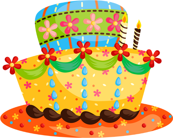 d'anniversaire png, bougies - birthday cake png