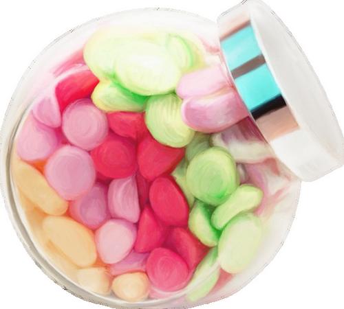 bocal de bonbons dessin tube candies dulces png. Black Bedroom Furniture Sets. Home Design Ideas