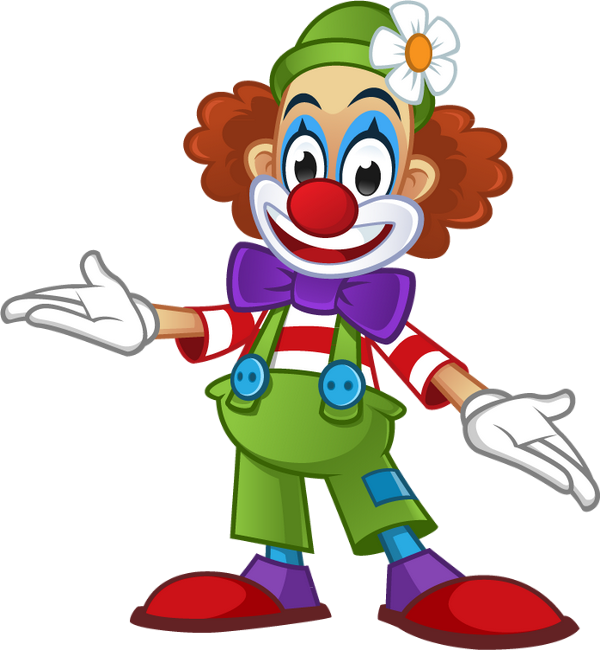 Clown Colored Png Transparent Dessin Couleur Clown Dessin De