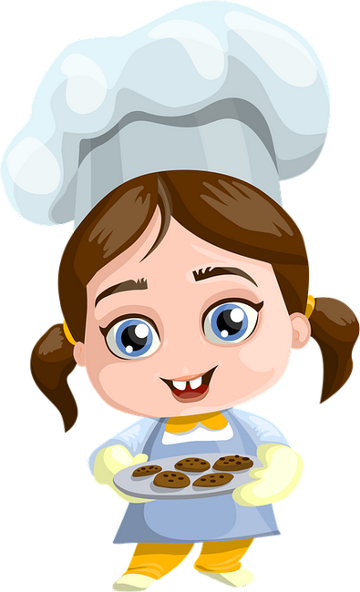 Cuisinier png fille cook png girl konditor clipart for Cuisinier png