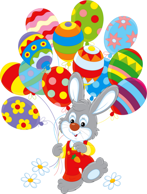 p ques lapin png ballons dessin easter bunny clipart. Black Bedroom Furniture Sets. Home Design Ideas