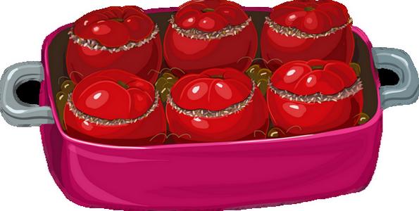 Tomates farcies dessin couleur - Tomate dessin ...