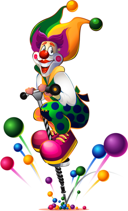 Clown colored png transparent dessin couleur clown - Dessiner un clown ...