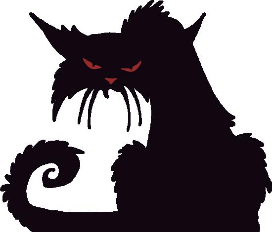 Chat Noir Png Dessin Tube Halloween Black Cat Clipart