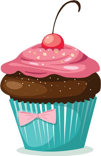 Color - Cupcakes dessin ...