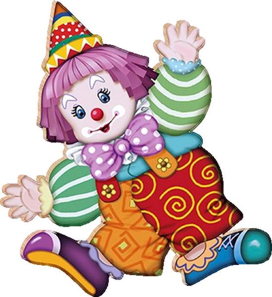 Dessin De Clown En Couleur clown : dessin couleur fond transparent - pagliaccio