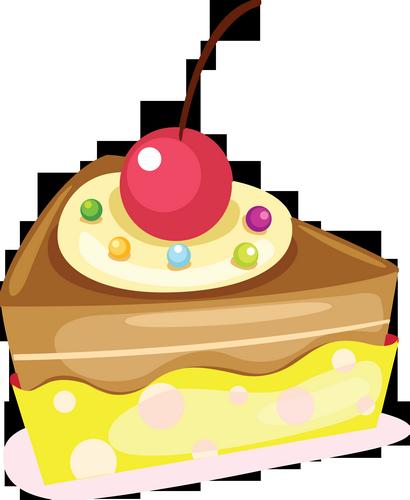 Part de gâteau  dessin