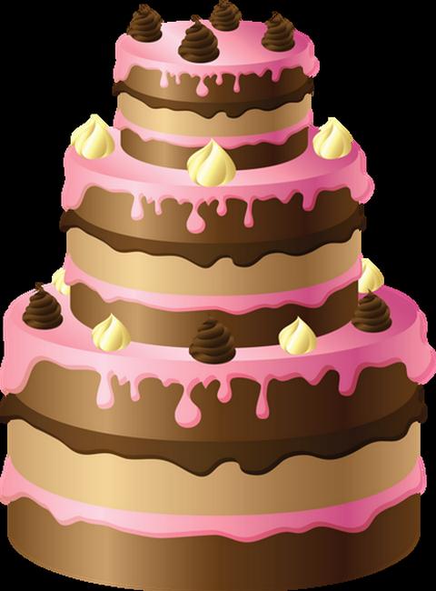Gateau anniversaire dessin couleur
