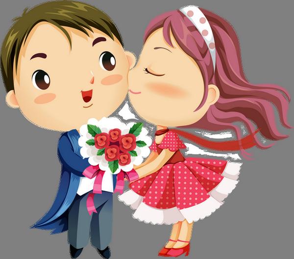 Dessin Amoureux Couple amoureux, dessin couleur, couple png - lovers drawing