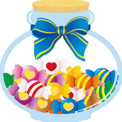 Bocal De Bonbons Png Dessin Tube Candy Drawing Png
