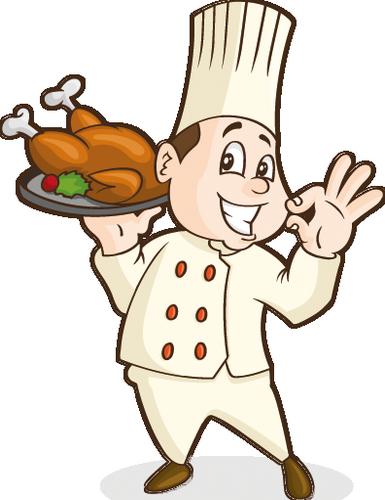 Cuisiniers ieres serveurs euses etc 2 page 6 - Dessin de poulet roti ...