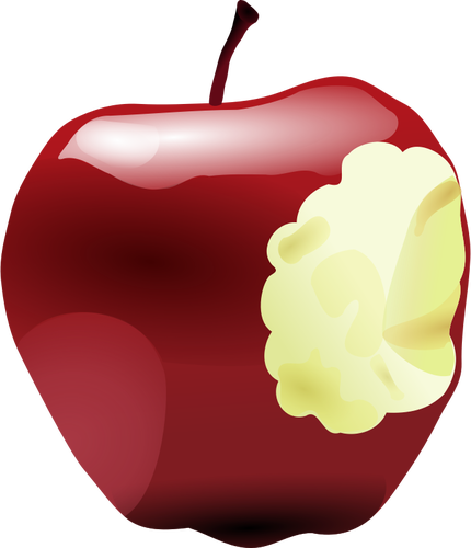 Pomme croqu e dessin - Dessin pomme apple ...