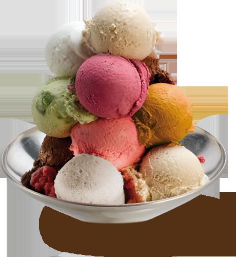 Boules de glace coupe - Composition coupe de glace ...
