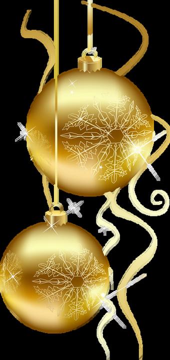 boules de no l dor es tube gold christmas balls png. Black Bedroom Furniture Sets. Home Design Ideas