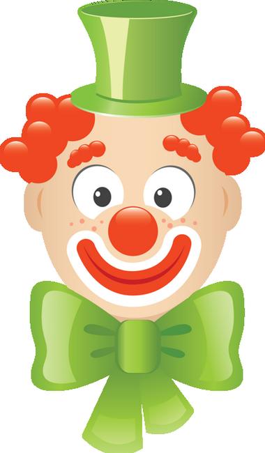 Dessin De Clown En Couleur tête de clown : dessin couleur - clown zeichnung png