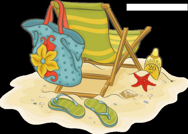 Vacances D Ete Plage Png Tube Vacation Beach Clipart