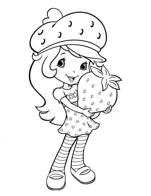 Charlotte aux fraises coloriages page 2 - Charlotte aux fraises dessin ...