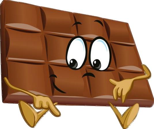 Chocolat page 11 - Dessin tablette chocolat ...