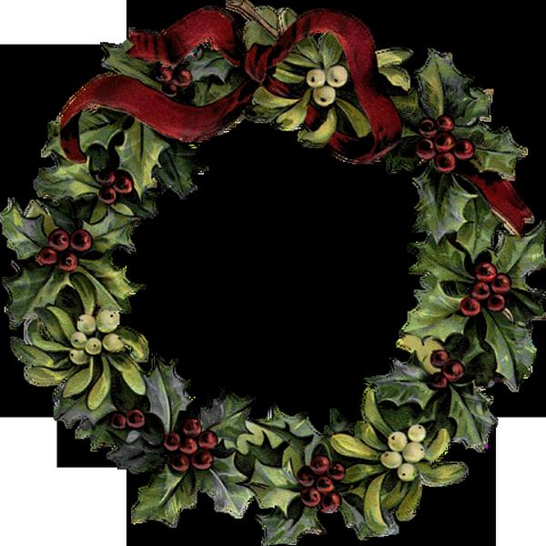 tube no l couronne houx et gui christmas wreath png. Black Bedroom Furniture Sets. Home Design Ideas