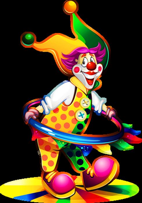 Clown Colored Png Transparent Dessin Couleur Clown