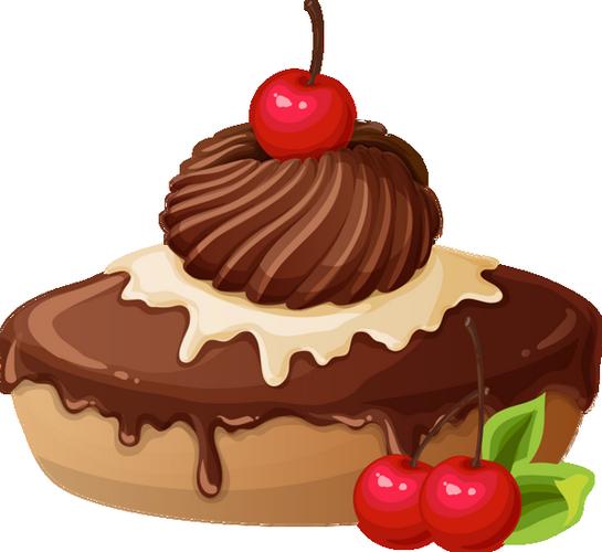 Gateau Au Chocolat Png Dessin Chocolate Cake Clipart