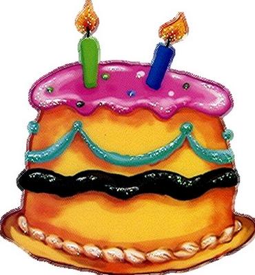 gâteau 2 bougies
