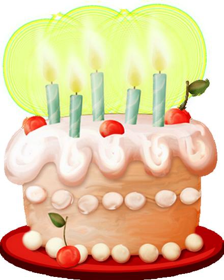 Dessiner un gateau anniversaire