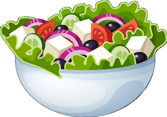 Salade composée : dessin
