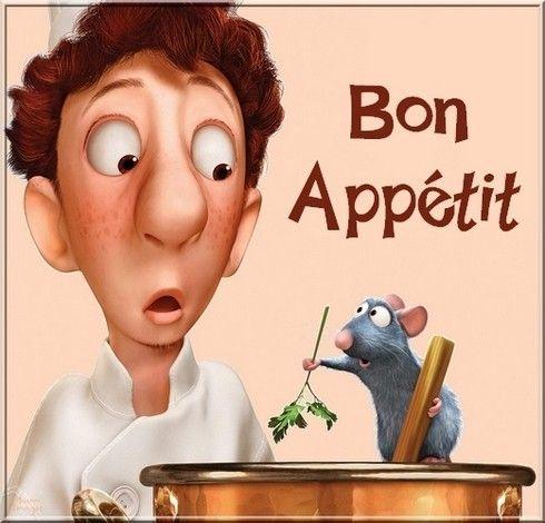 """Résultat de recherche d'images pour """"bon appétit ratatouille"""""""