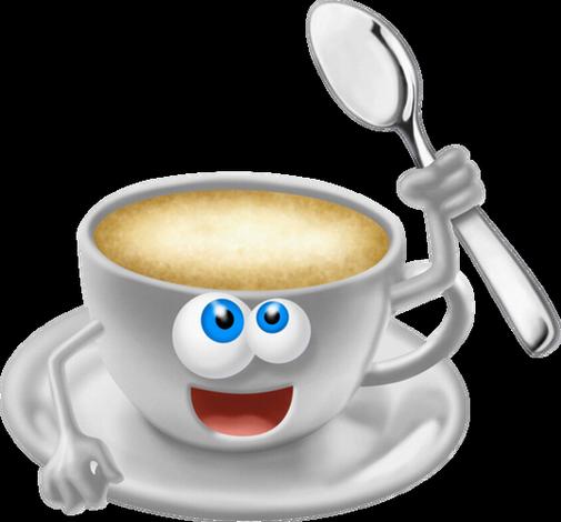 Tasse de caf personnage - Tasse de cafe dessin ...