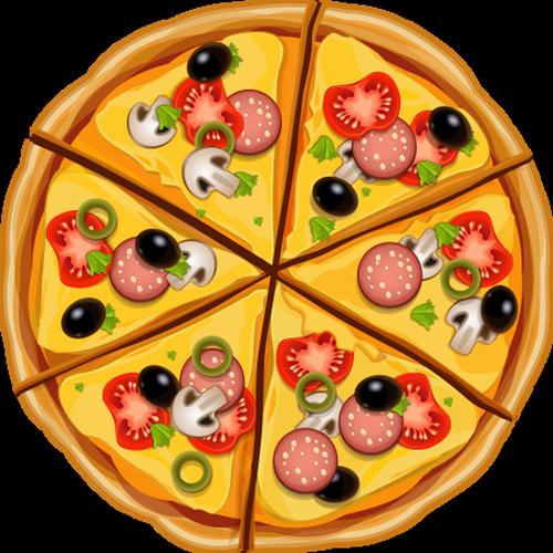 Pizza : dessin