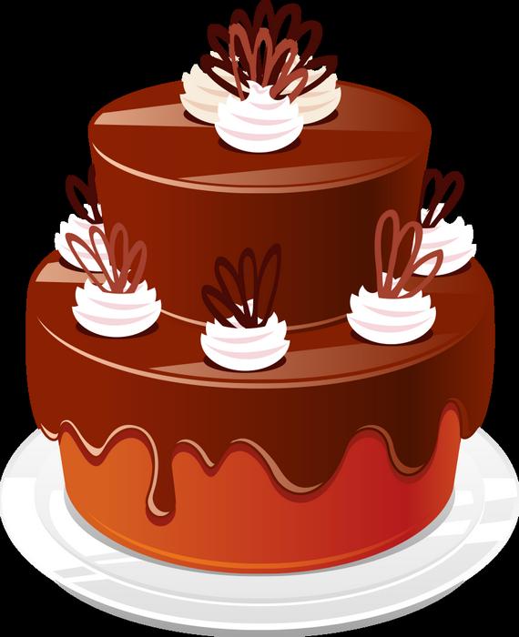 Gateau Au Chocolat Png Chocolate Cake Drawing