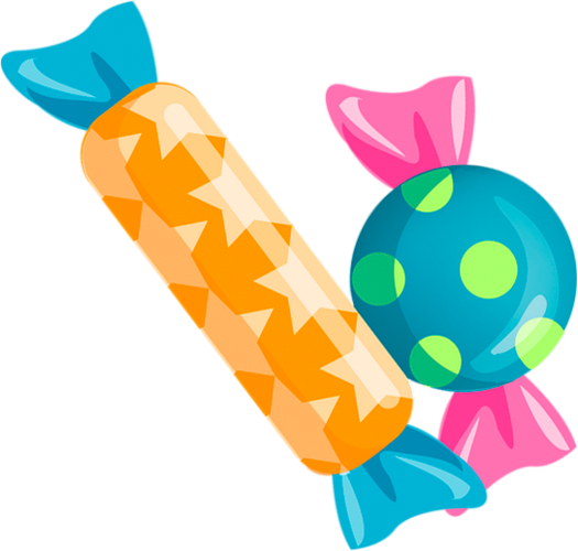 Bonbons Dessin Couleur Candy Drawing
