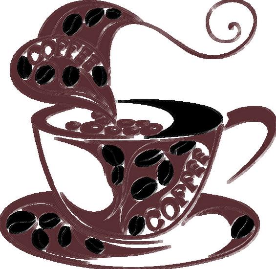 Dessin Tasse De Café Fumant boissons cafe - page 12