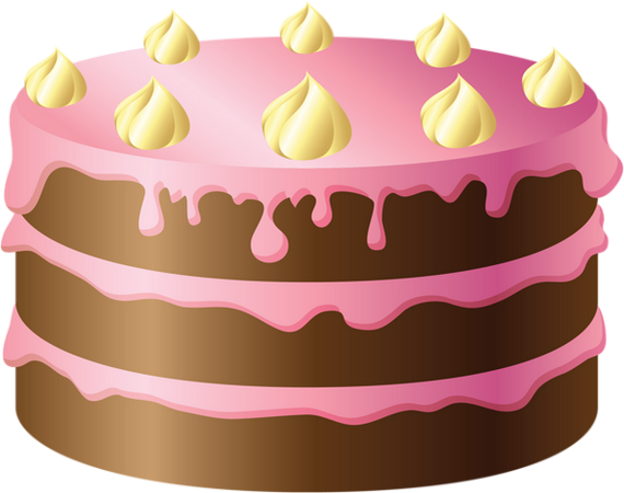 Gâteau  dessin couleur