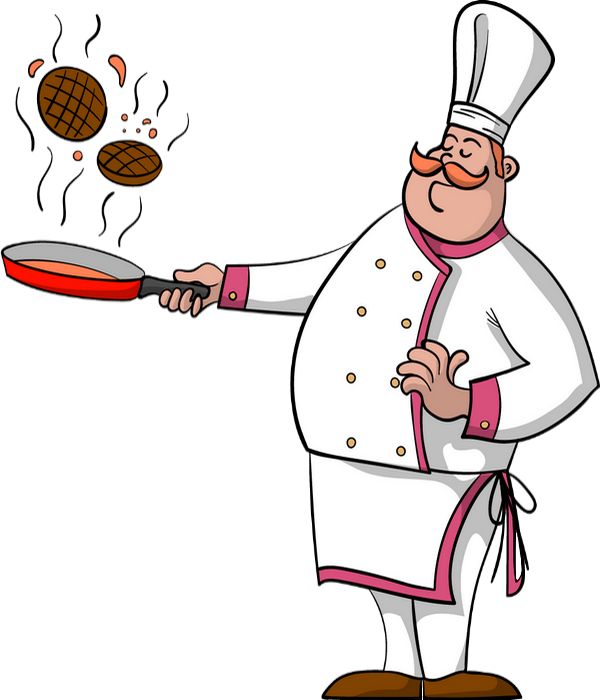 Chef carrying tray of pizza illustration, Pizza Italian cuisine Chef , Cook  pizza transparent background PNG clipart | HiClipart